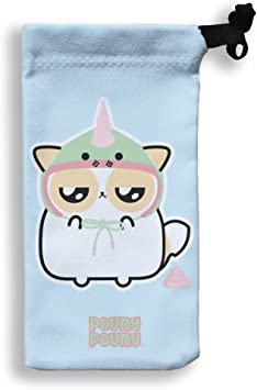 Pouny Pouny Funda Para Smartphone 17 X 9 Grumpy Gorro De Unicornio Y Caca Rosa Chibi Y Kawaii Fabricado En Francia Licencia Oficial Chamalow Shop Amazon Es Electronica