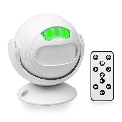 TSSS Shop Sensor Welcome Guest Timbre - Detector de movimiento PIR inalámbrico por infrarrojos para tiendas
