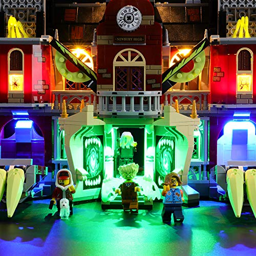LIGHTAILING Light Set for (Hidden Side Newbury Haunted High School) Building Blocks Model - Led Light kit Compatible with Lego 70425(NOT Included The Model)