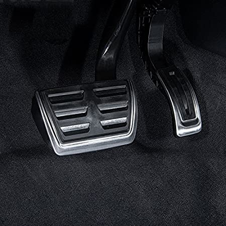 Amazon.com: AutoBig Gas Pedal Cover Compatible Audi Q5 A4 B8 A5 A6 A7 A8 Porsche Macan Brake Accelerator Pad: Automotive