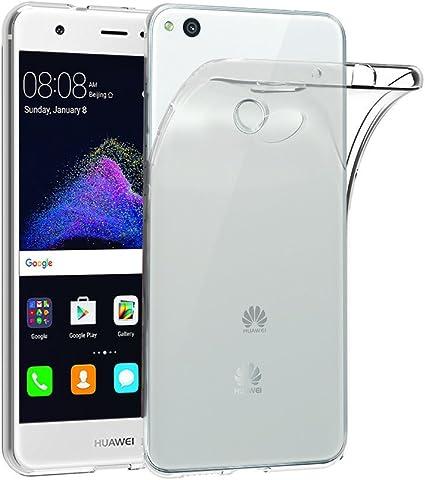 ELTD Huawei P8 Lite 2017 Cover, Smooth Silicone Back Case Protettiva Custodia per Huawei P8 Lite 2017, Trasparente