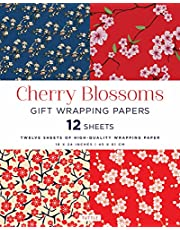 Cherry Blossoms Gift Wrapping Papers: High-Quality 18 X 24 Inch (45 X 61 CM) Wrapping Paper