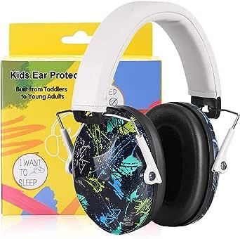 PROHEAR 0321Gekleurd gehoorbescherming voor kinderen met SNR 29dB gehoorbescherming, opvouwbaar, comfortabel, geluidsbescherming, hoofdtelefoon voor kinderen, jongeren voor concerten, feesten, school, van 1 tot 18 jaar