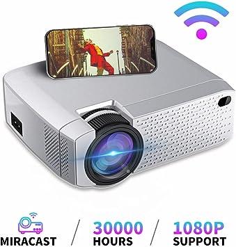 Mini proyector, Proyector portátil LED WiFi Inalámbrico Misma ...
