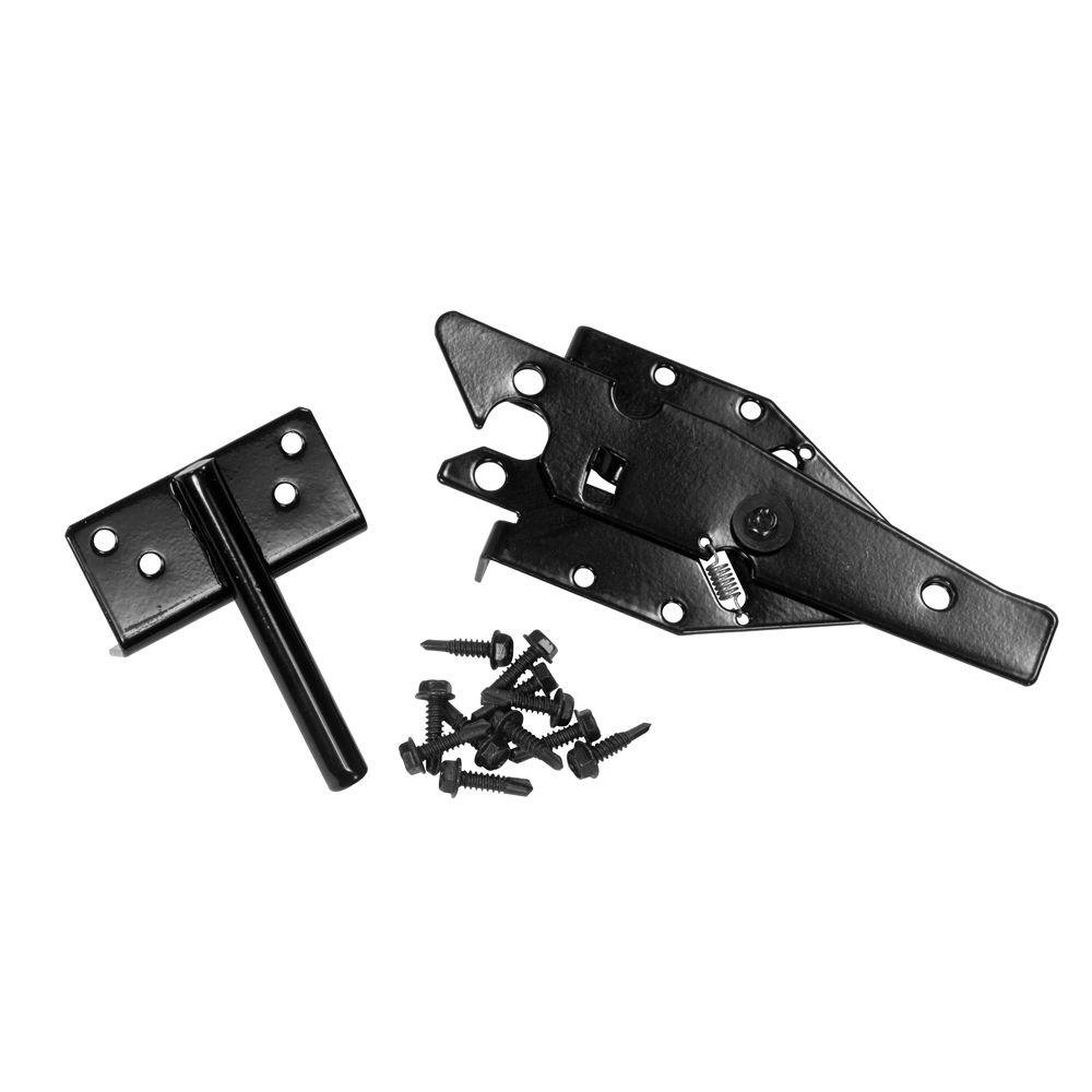 Black Stainless Steel Residential Paddle Latch