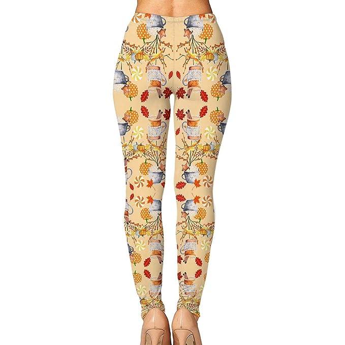 Amazon.com: GIAHSO - Pantalones de yoga para mujer con ...