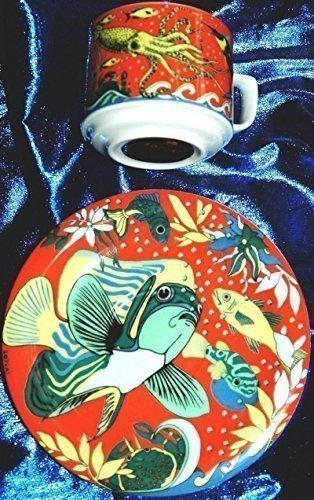 Robinson & Crusoe de café de-juego de taza de café de porcelana de ...
