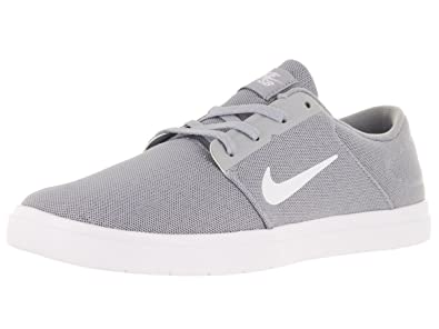 Nike SB Portmore Ultralight M - Skateboarding Trainers, Color Grey (Wolf  Grey/White