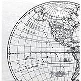 Cynthia Rowley 3 Piece Twin Size Single Bed Microfiber Sheet Set Classic Early Explorer Global Map