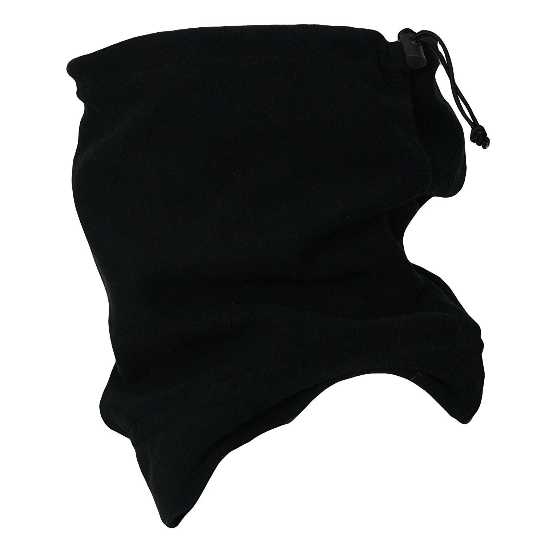 Scaldacollo termico invernale da sci Taglia unica Black multiuso