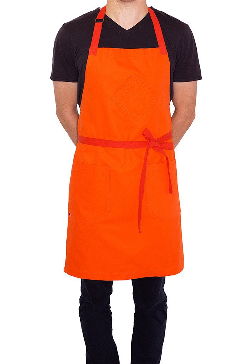 Hedley & Bennett American Made Apron The Color Collection: Satsuma Orange by Hedley & Bennett