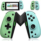ECHTPower Wireless Controller for Nintendo Joycon Switch, Macro Button/Turbo/Vibration/Motion Functions, L/R Switch Controlle