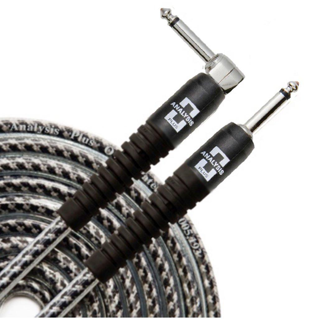 大きな割引 Analysis PlusグレーOval Analysis Instrument Cable with B01M68L1MC Straight with to 90標準プラグ10 ft B01M68L1MC, 【メーカー再生品】:f92ad43f --- newfinres.com