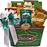 Art of Appreciation Gift Baskets Time to Golf Gourmet Food Basket