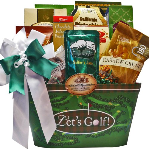Time To Golf Gourmet Food and Snacks Gift Basket (Birthday Gift Baskets Usa)