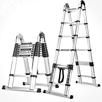 GBX Escalera de Escalera Escalera de Ingeniería Escalera Plegable Doméstica Escalera Escalera de Ático Escalera de Escalada Escalera Multifunción Capacidad de Carga 150 Kg (Color: Estándar Alemán, Ta: Amazon.es: Bricolaje y herramientas