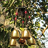Wall of Dragon Garden Decor Wind Chime Bell Antirust Copper Lovely Outdoor Living Decorations
