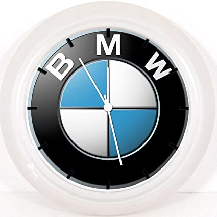 "BMW reloj de pared 10 ""será bonito regalo y decoración de la habitación Pared"