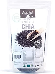 Semillas chia organica ecologica pack 2 x 500g , 1 kg en total: Amazon.es: Alimentación y bebidas