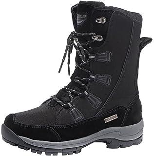 Spirale , Bottes de ski homme - Noir - Schaft: schwarz, grau-silber abgesetzt, Sohle: grau, 40 EU