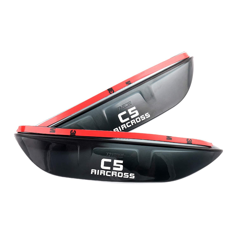 Specchietto retrovisore per auto LFOTPP sopracciglia impermeabile per C5 Aircross 2019