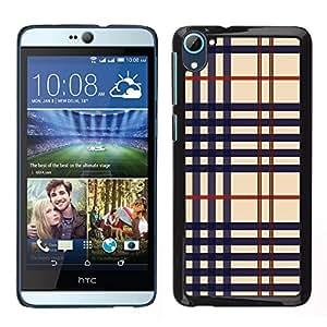 LECELL--Funda protectora / Cubierta / Piel For HTC Desire D826 -- Textura del paño --