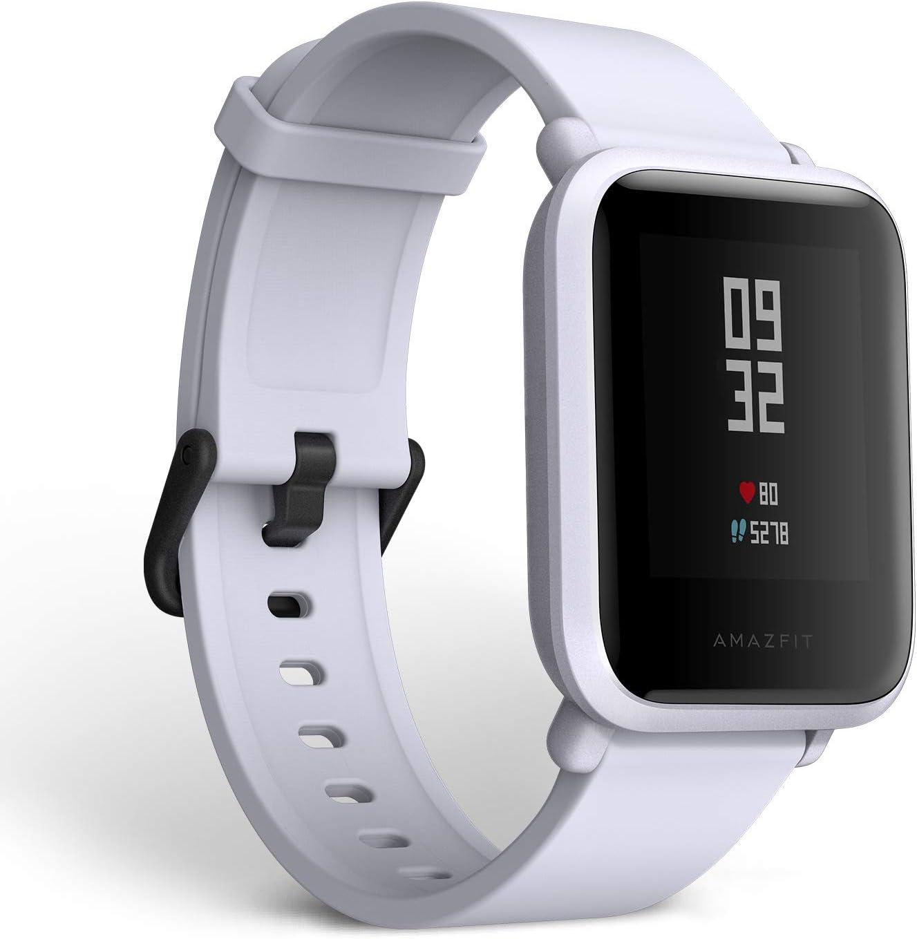 Amazfit Bip Smartwatch, Unisex Adulto, White, Talla Única