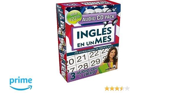 Ingls en un mes libro 3 cds ingles en 100 dias aguilar ingls en un mes libro 3 cds ingles en 100 dias aguilar 9781616051754 amazon books fandeluxe Images