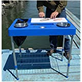 RITE-HITE Fillet Factory Fish Cleaning Station - Everything You Need To Clean Fish On The Go. Lightweight and Portable