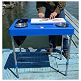 fish and game table - RITE-HITE Fillet Factory Fish Cleaning Station - Everything You Need To Clean Fish On The Go. Lightweight and Portable