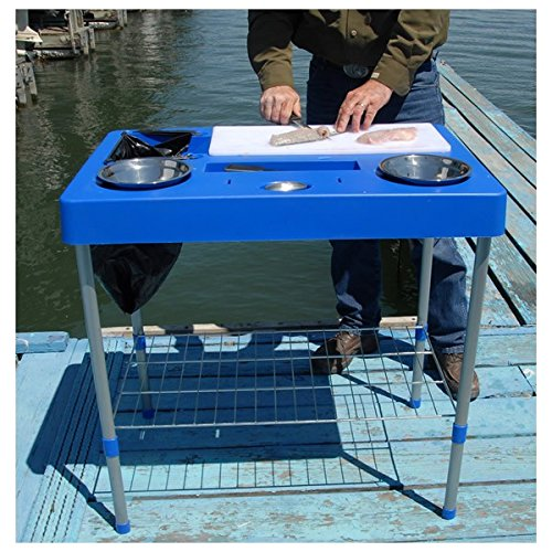 RITE-HITE Fillet Factory Fish Cleaning Station - Everything You Need To Clean Fish On The Go. Lightweight and Portable Fish Fillet Tables