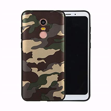 Amazon.com: IVY Redmi 5 Plus Funda de TPU [Camuflaje Camo ...