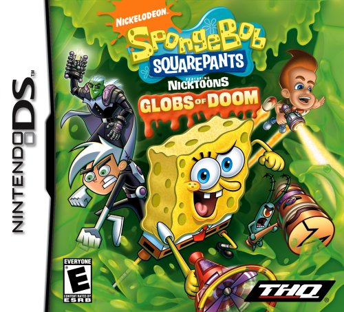 SpongeBob SquarePants featuring NickToons: Globs of Doom NDS (Squarepants Spongebob Bottom Bikini Adventures)