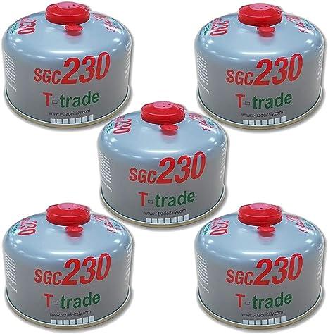 T-TRADE Campingaz Cartuccia Gas Butano C206 GLS Da 190 Gr ...