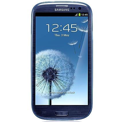 Samsung Slim Case - Carcasa para Samsung Galaxy S3, color azul - Pack de 2 unidades