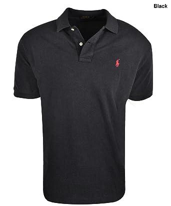 Polo Ralph Lauren Men Classic-Fit Mesh Polo (X-Small, Polo Black
