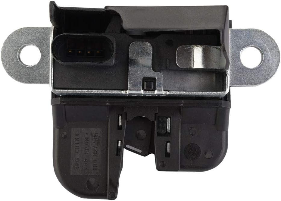 Black Tailgate Rear Trunk Lid Lock Latch for//Seat Altea//Leon Ii//Toledo Iii,1K6827505E KIMISS Trunk Lock Latch