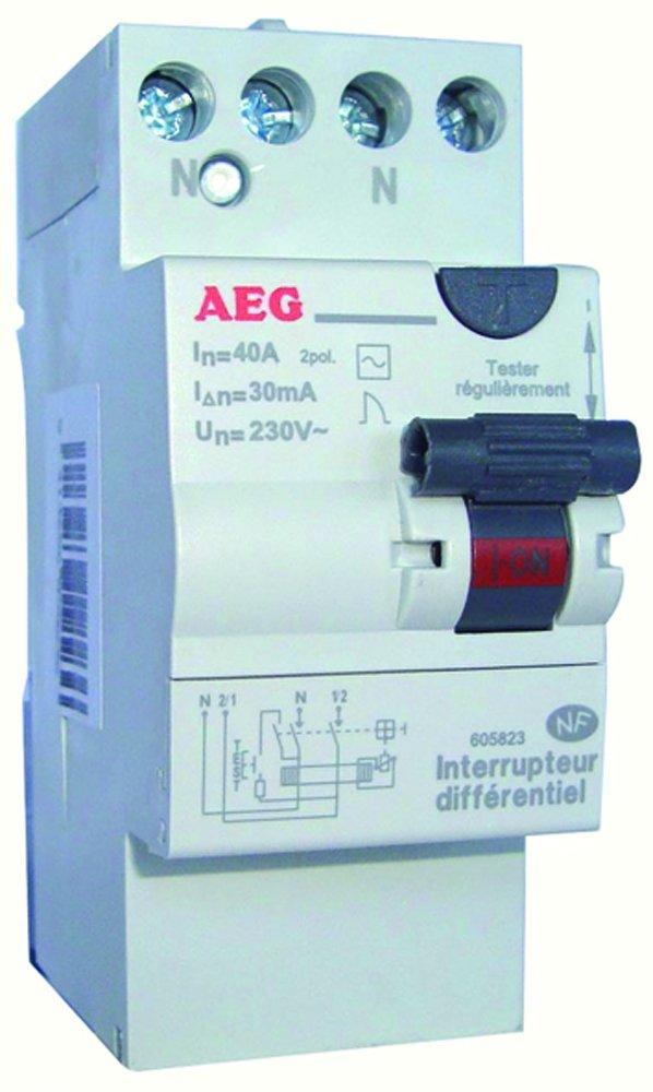 High Quality AEG AUN605825 Differentialschalter 40 A/30 MA/Typ A/mit Anschlüssen In  Verschiedenen Höhen: Amazon.de: Baumarkt