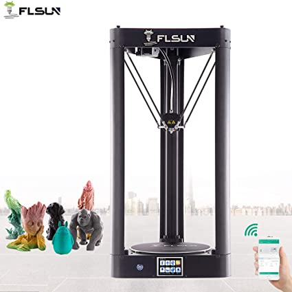 FLSUN QQ-S 90%Pre-assembled Delta 3d Printer Printing Size ...