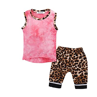 7eaf63c14 POLP Niño Conjunto Bebé Verano Recién Nacido Infantil Bebé Niño Color Puro  Tops Camisas Camiseta Chaleco y Pantalones Cortos Conjuntos de Ropa Trajes  ...
