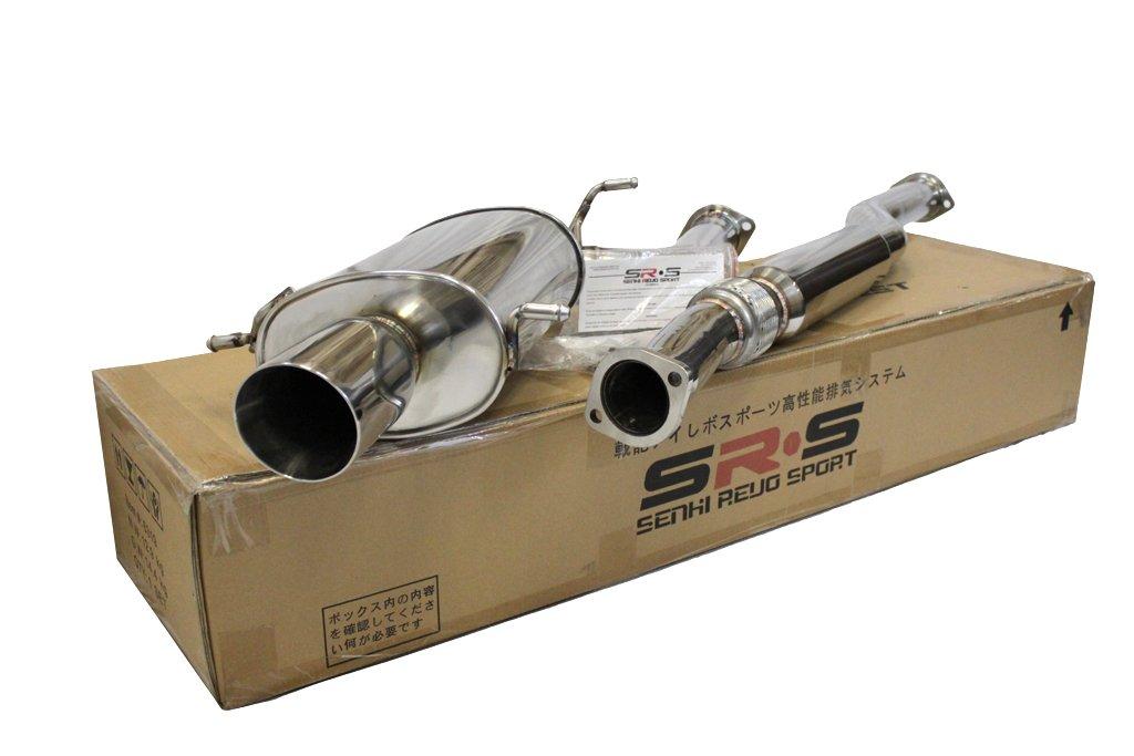 SRS Type R catback exhaust system For 02-07 Subaru WRX//STI SRS-CBEX-SUFB0206