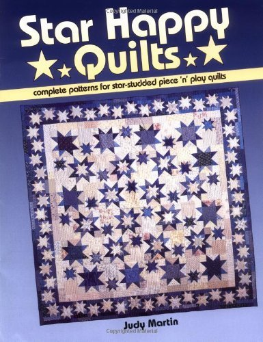 Studded Zebra - Star Happy Quilts: Complete Patterns for Star-Studded Piece 'n' Play Quilts by Judy Martin (2001-02-14)