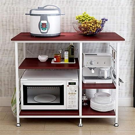 Amazon.com: Sdoveb - Estantería de 3 niveles para horno de ...
