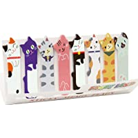 Cute Cat Sticky Notes Bookmarks Page Flags Index Tabs for Cat Lovers/Kids/Office/School/Reading, 3 X 120 Sheets