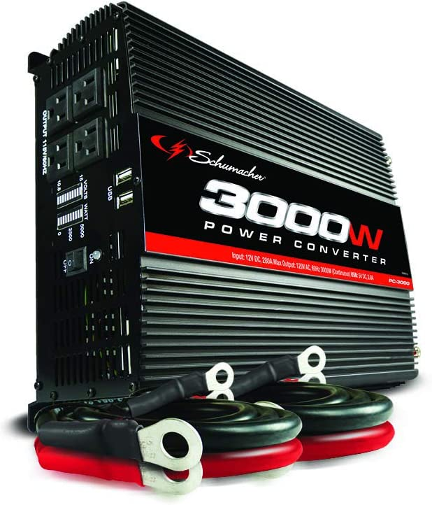 Schumacher PC-3000 3000W Power Inverter