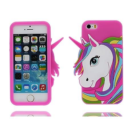 Carcasa iPhone 5s, iPhone 5 SE 5C Funda Cover, |TPU Durable Cover Para las señoras chicas Chicos | Rasguños resistentes, Case / Caucho blando suave/ ...