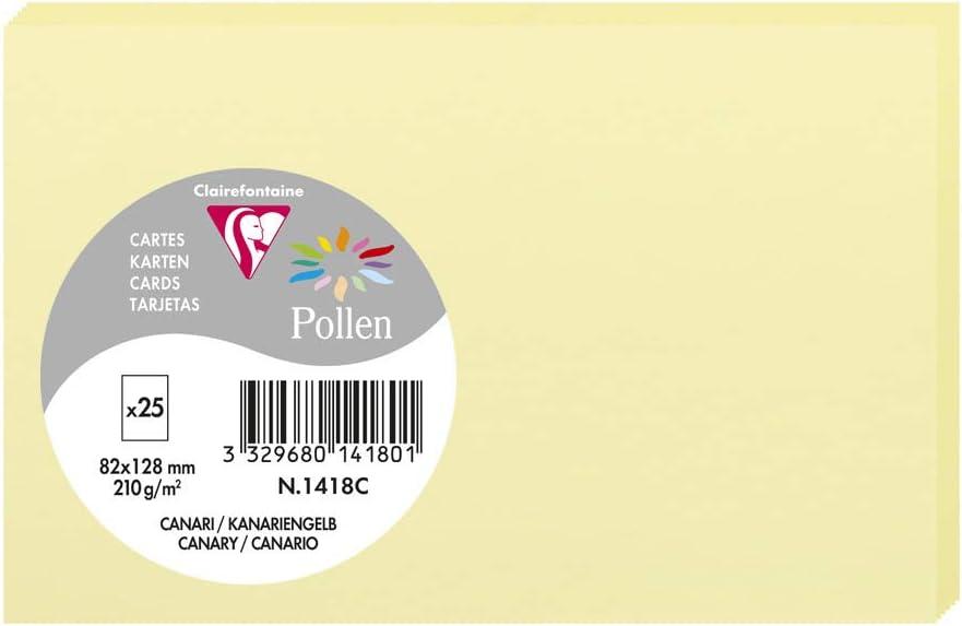 Carte Pollen 110x155 canari pqt 25