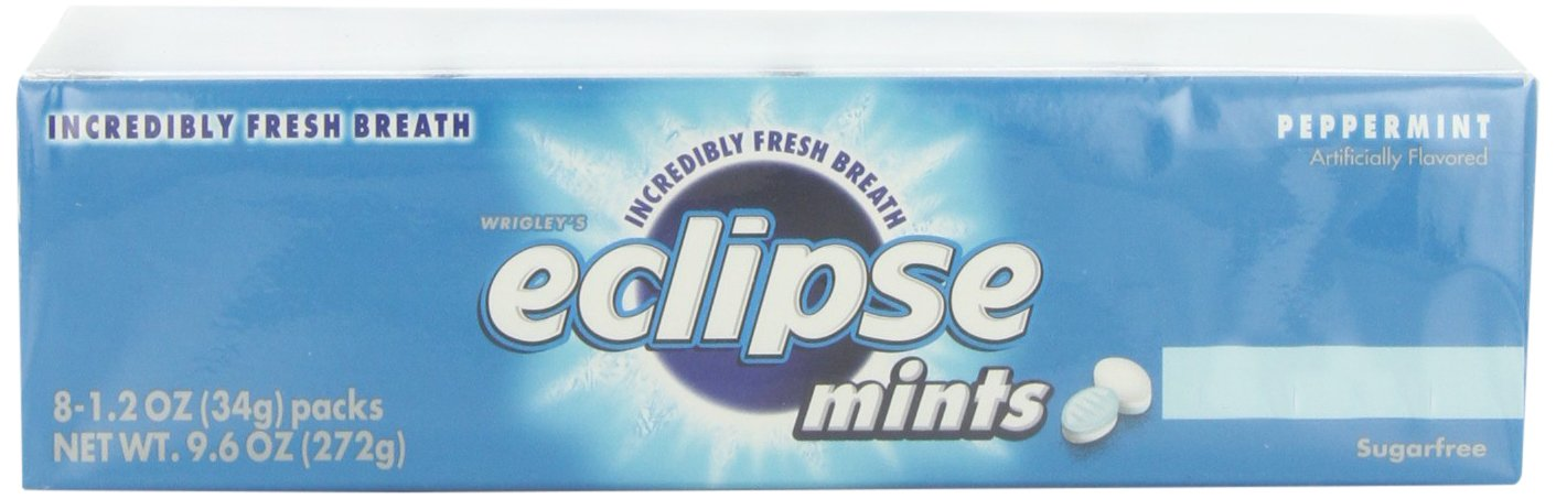 Wrigleys Eclipse Mints Peppermint, 1.2 oz.  (Pack of 8) by Wrigley's (Image #5)