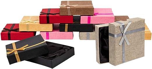NBEADS Juego de 24 Cajas de Cartón Cuadradas para Pulsera ...