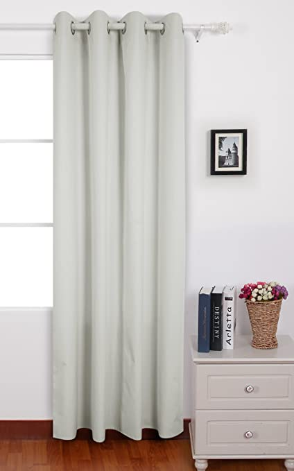 Deconovo Oxford Curtains Thermal Insulated Bedroom With Backside Silver Backing For Girls Room 52 W X